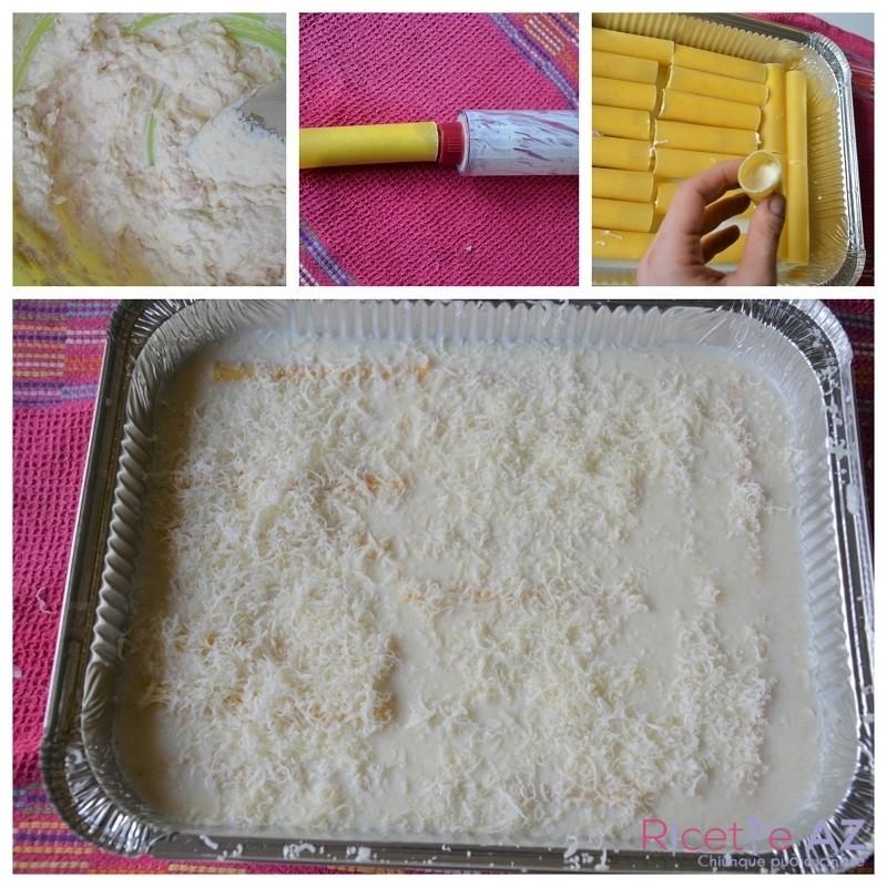Cannelloni ripieni besciamella