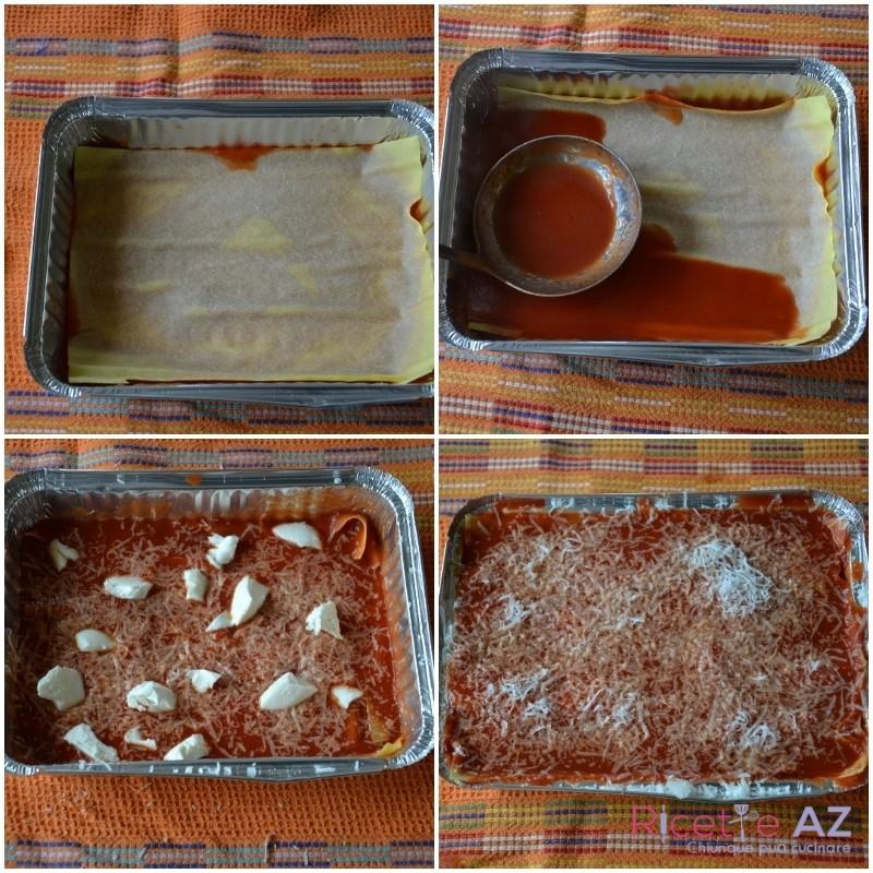 Lasagne al forno in teglia