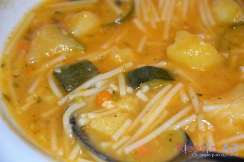 Minestra di zucchine