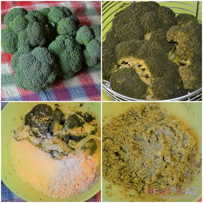 polpette di broccoletti siciliani prepara impasto