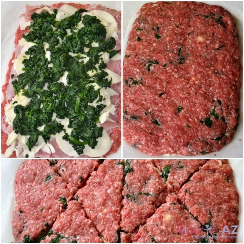 tramezzini di carne taglia i tramezzini