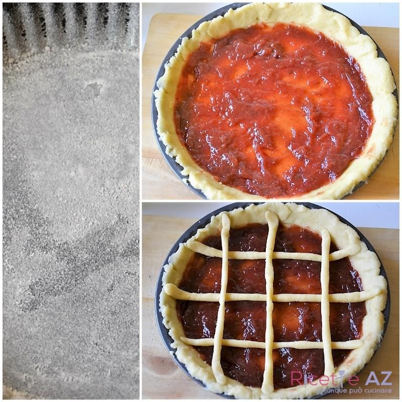 Crostata di marmellata in forno