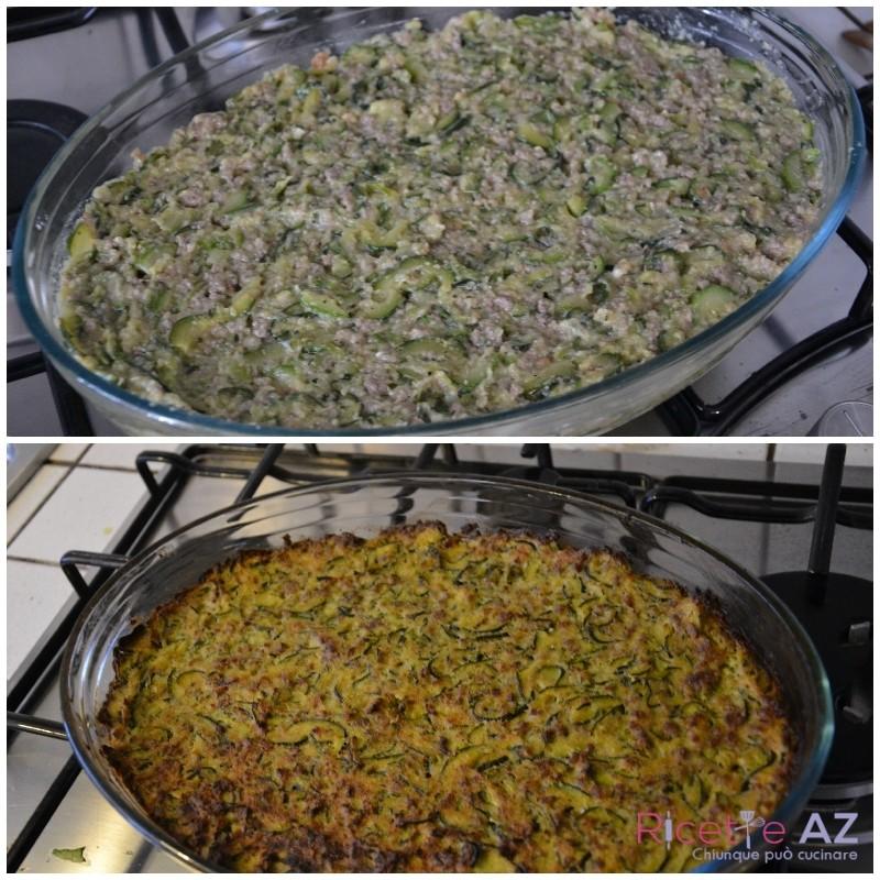 Sformato di zucchine in forno