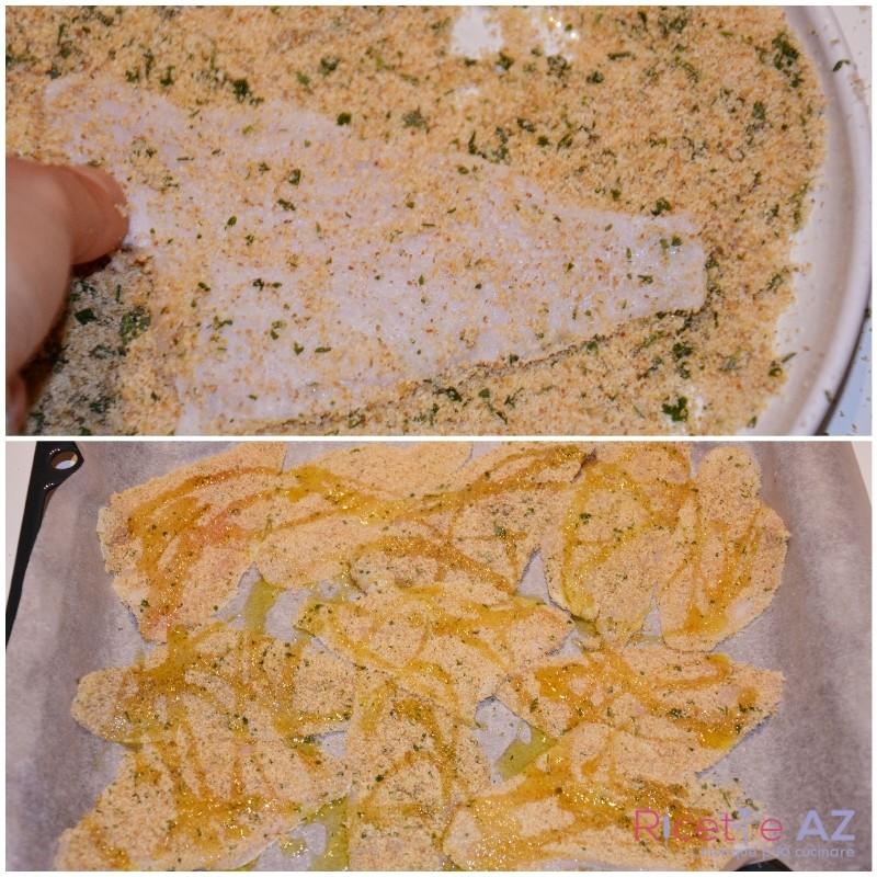 Filetti di merluzzo al forno in teglia