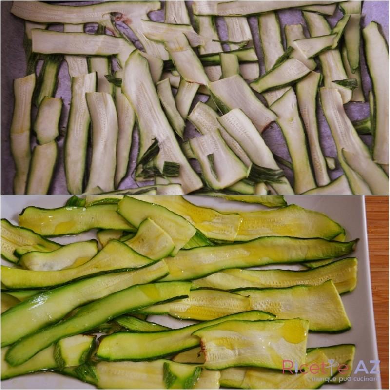 Zucchine al Forno preparazione