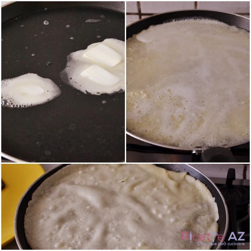 Ricetta Crepes Cottura