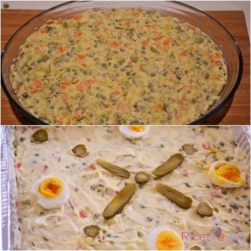 insalata russa pronta