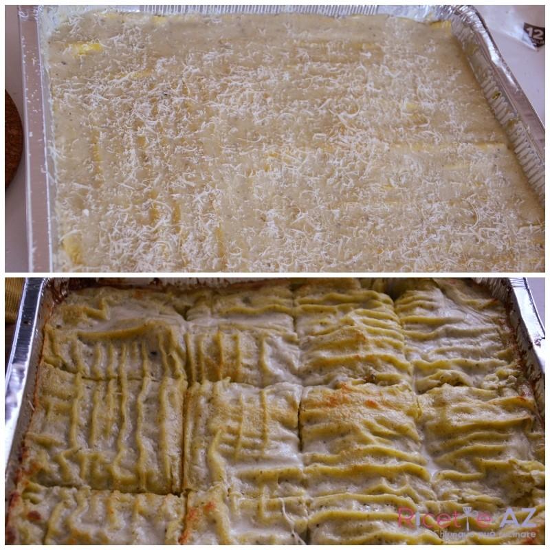 Lasagne al Pesto cotte
