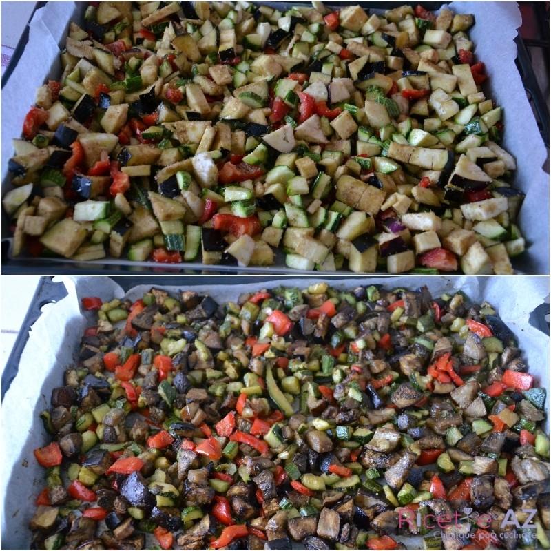 verdure al forno pronte