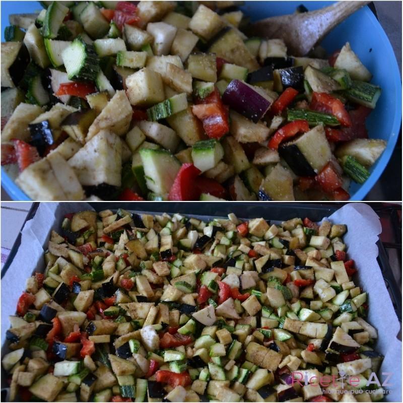 verdure al forno condimento