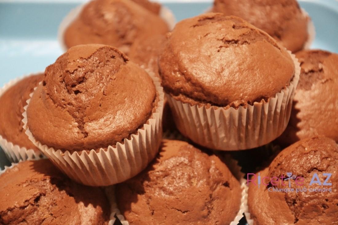 Muffin al Cioccolato al forno