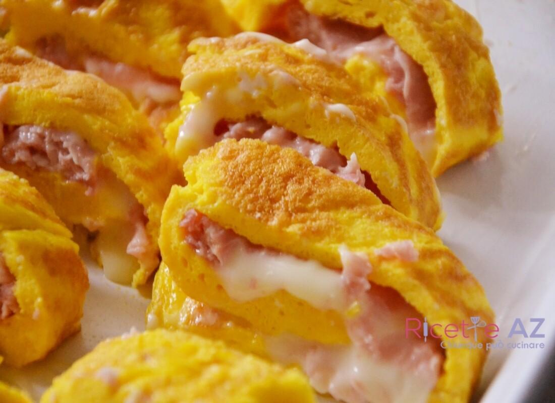 Omelette ripiena