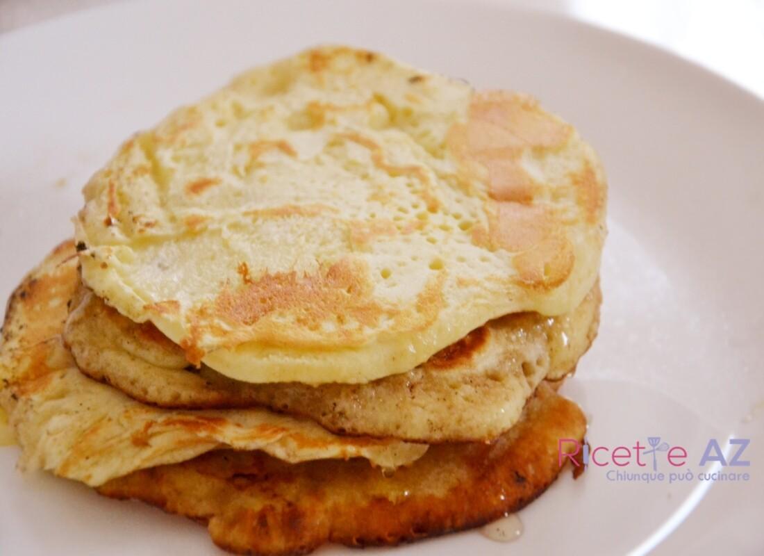 Pancake proteici fatti in casa