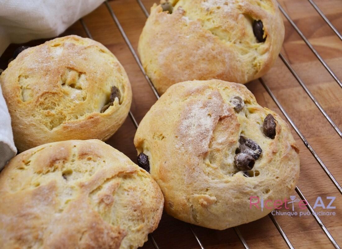 Pane con le Olive pronto