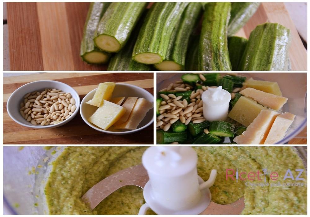 Come preparare il pesto di zucchine