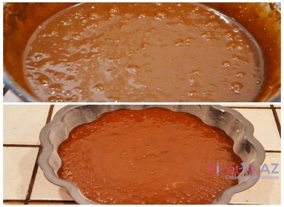 Torta al Cacao in forno