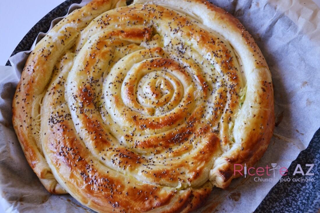 Torta salata a spirale ricetta facile